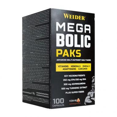 WEIDER MEGABOLIC PACKS 100ΤΜΧ