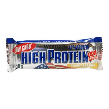 ENERGY BAR WEIDER LOW CARB HIGH PROTEIN BAR 50GR