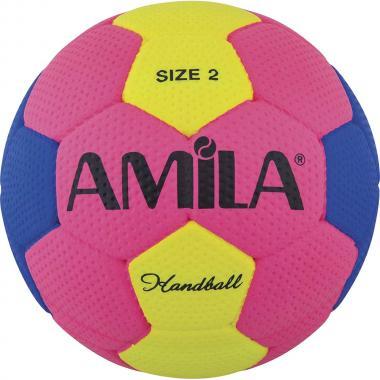 ΜΠΑΛΑ HANDBALL AMILA CELLULAR RUBBER SIZE II 41322