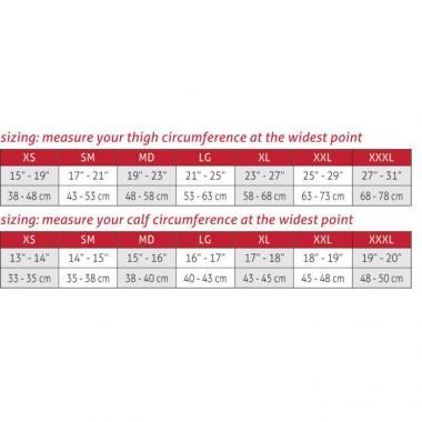 ΜΑΝΙΚΙ ΣΥΜΠΙΕΣΗΣ (COMPRESSION) ΠΟΔΙΟΥ PERFORMANCE (20-30mmHg) MUELLER 4602x (G2) 2ΤΜΧ