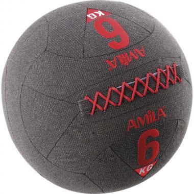 ΜΠΑΛΑ WALL BALL ΜΕ KEVLAR 6KG 94612