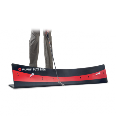 GOLF PUTT PATH BLACK/RED PURE